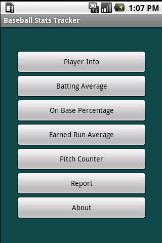 Team Baseball Stats Tracker