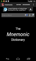Screenshot of GRE - Mnemonic Dictionary