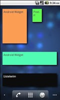 Screenshot of Post-it Widget