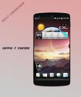 Screenshot of Oppo 7 theme