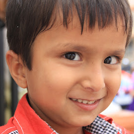 So Cute by Tammy Jones Perdue - Babies & Children Children Candids ( india, candid, cute, boy,  )