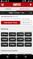 Screenshot of Hoyts Cinema