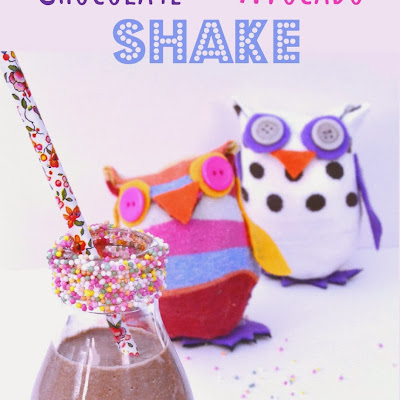 Chocolate & Avocado Shake