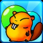 Bubble Beaver Game [ demo ] icon