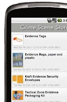 Screenshot of Crime Scene Supply Store