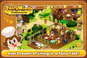 Screenshot of LINE FairyWoods Patisserie
