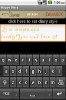 Screenshot of Happy Diary PLUS