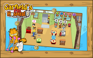 Screenshot of Garfield's Pet Hospital