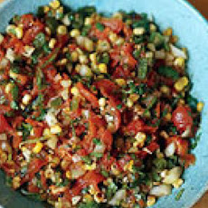 Roasted Tomato and Corn Salsa