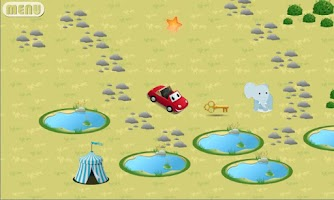 Screenshot of Kids Car - In Fairytale