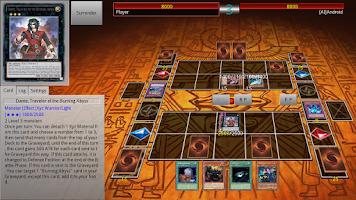 Screenshot of Ygopro