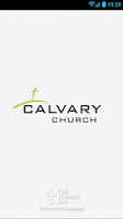Screenshot of Calvary Church