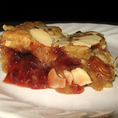 Strawberry Almond Slice