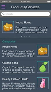 EcoDirectory Australia - screenshot