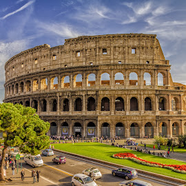 colloseum by Δημήτρης Παπαγεωργίου - Buildings & Architecture Statues & Monuments