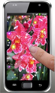 Orchid Gallery live wallpaper - screenshot
