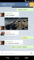 Screenshot of Telegram (Unofficial)