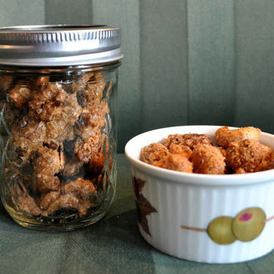 Sweet and Salty Spiced Nuts