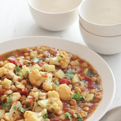 Chickpea, Cauliflower, and Potato Curry