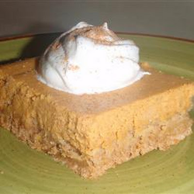 Spiced Pumpkin Cheesecake Bars