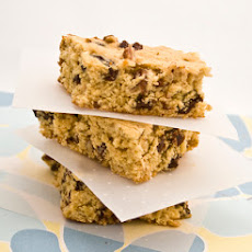 Chocolate, Cranberry and Oat Bars