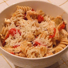 Greek Chicken Pasta