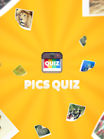 Screenshot of PICS QUIZ - Guess the words!