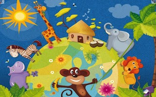 Screenshot of KiDSAPP in Africa
