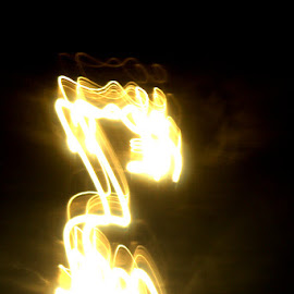 by Christo du Plessis - Abstract Light Painting