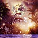 Dolphin fantasy icon