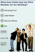 Screenshot of Seinfeld Trivia