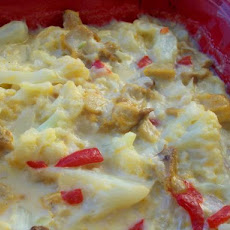 Chicken Cauliflower Casserole