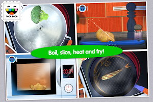 Screenshot of Toca Kitchen