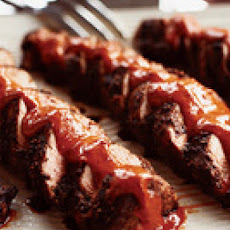 Spiced Pork Tenderloins with Ancho Peanut Sauce
