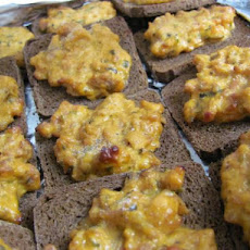 Healthified Party Pizza Appetizers