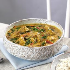Lamb Curry With Basmati Rice