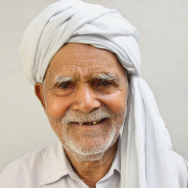 died at 103 years  by Sethi Kc - People Portraits of Men ( died at 103 years,  )