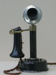 Candlestick Phones - Dean Intercom Candlestick $400 1