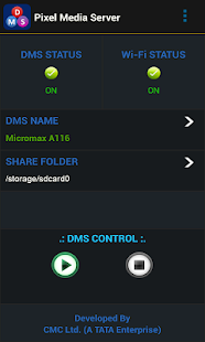 Pixel Media Server - DMS Screenshot