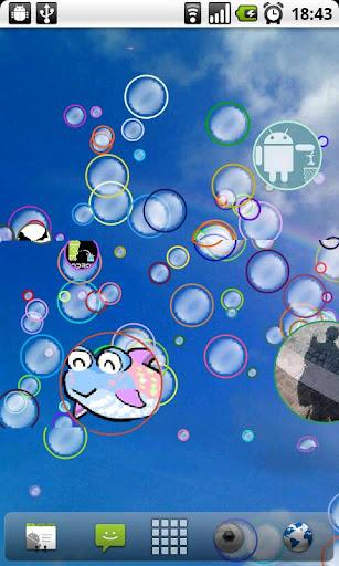 玩免費個人化APP|下載Bubble Live Wallpaper app不用錢|硬是要APP
