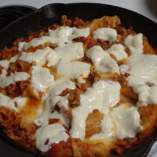 Weeknight Skillet Lasagna
