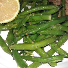 Green Beans With Lemon