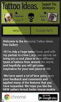 Screenshot of Amazing Tattoo Ideas