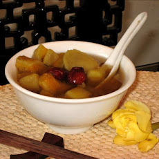 Traditional Chinese Sweet Potato & Ginger Dessert Soup