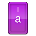 Candy Purple HD Keyboard Theme icon