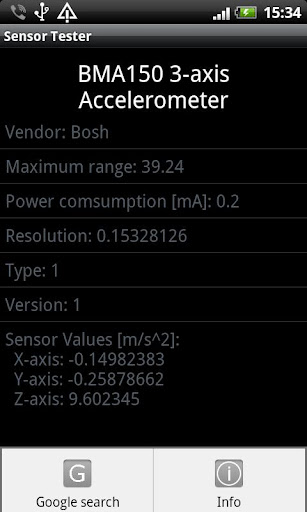 Sensor Tester