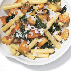 Ziti with Skillet-Roasted Root Vegetables