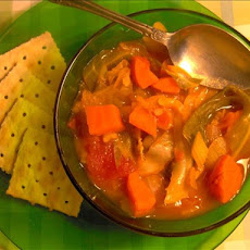 Cabbage Soup With Rice and Dill for the Crock Pot