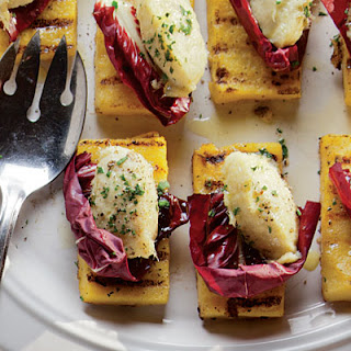 Baccalà Mantecato (Grilled Polenta with Dried Cod Mousse)