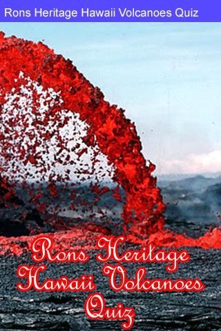Rons Hawaii Volcanoes Quiz